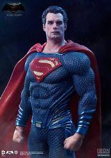Iron Studios DC Batman vs Superman Dawn of Justice Superman Art Scale Statue New