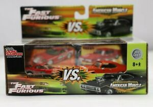 Racing Champions Fast & Furious Vs American Musce Mazda & Pontiac Gto Diecast