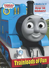 Trainloads of Fun (Thomas and Friends) (Jumbo Coloring Book)-ExLibrary