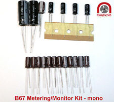Studer B67  METERING / MONITOR mono capacitor & preset trimmer overhaul kit