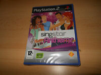 NEW FACTORY SEALED SINGSTAR ANTHEMS PLAYSTATION 2 PS2 SONY pal