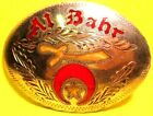 Hand Made SHRINERS AL BAHR Star Hand Engraved by DALE Belt Buckle