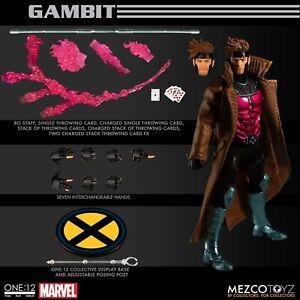 "(US Stock) AUTHENTIC Mezco One:12 Collective X-MEN Gambit 6"" Action Figure"
