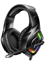 Gaming Headset PS4 With 7.1 Surround Sound Stereo, Xbox One Noise Canceling Mic,