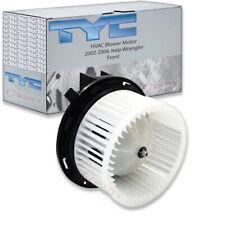 TYC Front HVAC Blower Motor for 2002-2006 Jeep Wrangler  dv