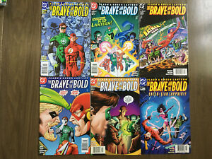 FLASH & GREEN LANTER BRAVE AND THE BOLD COMIC SET #1-6 DC COMICS NEWSSTANDS