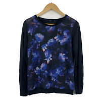 Tokito Womens Top Size 12 Floral Long Sleeve Multicoloured