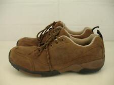 Cabela's Mens sz 11.5 M X4 Adventure Walking Shoes Brown Leather Casual Oxfords