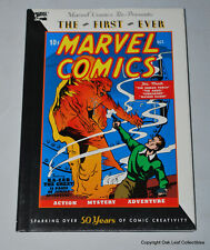 Marvel Comics 1 Hardcover Reprint 1990 Human Torch Sub-Mariner Ka-Zar Angel USED
