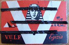 1920s BOB PINS - Egypt Mania - SPHINX + PYRAMID