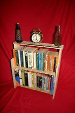 Rustic Wooden Shelves Book case, shelf, kitchen, boat, bedside, bathroom storage