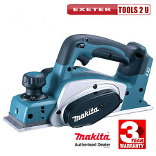 MAKITA DKP180Z 18v Lithium-ion LXT Cordless Planer (Body) + FREE PACK OF BLADES