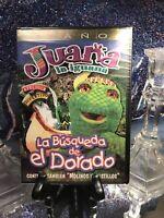 Juana La Iguana La Busqueda de El Dorado Spanish New DVD Cartoons