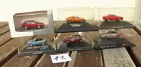 Herpa Konvolut 1:87 H0, Konvolut 6 Stück PKW-DTM Rennwagen Audi S2, A4 Avant, V8