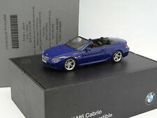 Minichamps 1/43 - BMW M6 Cabrio Azul