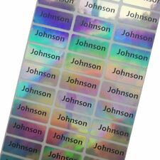 Waterproof Name Lable Tags Custom Stickers Children School Students Stationery