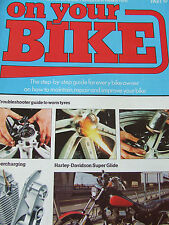 ON YOUR BIKE PART 19 HARLEY-DAVIDSON SUPER GLIDE TROUBLE SHOOTER WORN TYRES SUPE