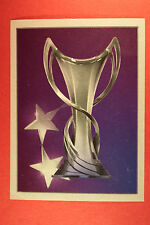 PANINI CHAMPIONS LEAGUE 2012/13 N. 589 THE CUP BLACK BACK MINT!