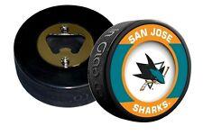 San Jose Sharks Retro Series Hockey Puck Bottle Opener