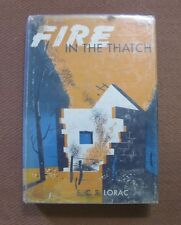 FIRE IN THE THATCH by E.C.R. Lorac - 1st edition 1946 HCDJ $2.00 - Mystery House