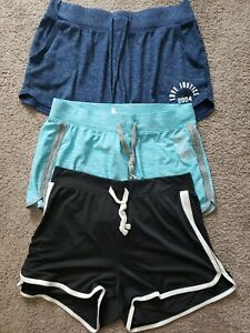 Bundle Of 3 Justice Active Shorts size 18/20