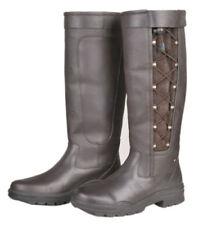 Leather Unisex UK 6 Long Riding Boots