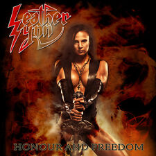 """Leather Synn – Honour and Freedom 7"""" RED vinyl - Judas Priest Us Metal Private"""