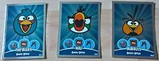 Angry Birds - Trading Cards - 3x SHINY Random Selection - Exc Con - Free Post!