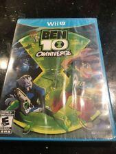 Ben 10 Omniverse Wii-U New Nintendo Wii U, Brand New Factory Sealed