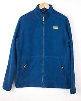L.L. BEAN Men Tall Zip Fleece Sweater Jumper Size L AVZ1022