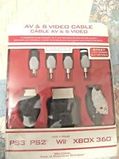 New listing Universal Av And S Video Cable Black