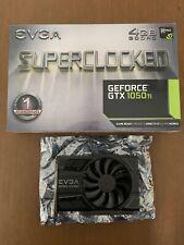 EVGA GeForce GTX 1050 TI SC Gaming (4GB, GDDR5 Graphics Card)