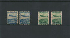 """#35 Stamp Germany Airmail 1936 **  """"First trip Zeppelin LZ-129 to the USA"""" - MNH"""