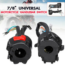 2x Horn Turn Signal Light Start Switch Control For 7/8'' Handlebar Motorcycle