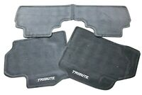 OEM 05-06 Mazda Tribute Front & Rear GREY Floor Mats Factory Carpet Replacements