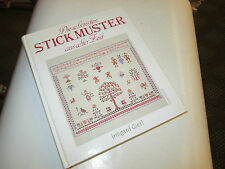 STICKMUSTER .. irmgard gierl .... texte en allemand