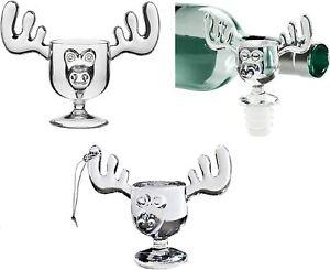 Christmas Moose Mug Trio - Moose Mug, Moose Mug Stopper & Moose Mug Ornament