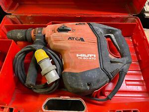 Hilti TE80-ATC AVR SDS Max Rotary Hammer Drill 3rd Generation Breaker  110V 2027