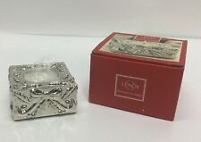 Lenox Silverplated Gift Votive with candle In Box New