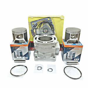Polaris 700 Cylinder 81mm SP1 Pistons Gaskets 99-01 XC SP Re-Plated STD Bore OEM