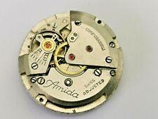 Amida Cal 530 Men's Watch Movement for Parts / Repair, Vintage Movement