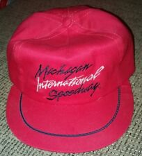 NASCAR Michigan International Speedway Hat Snapback trucker baseball Cap USA old