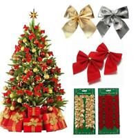 12Packs Xmas Tree Ornament Decoration Holiday Party Christmas Gift Packing Decor