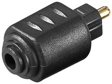 Goobay Audio adaptor 3.5mm mini TOSLINK female to TOSLINK male (11924)