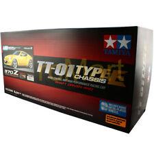 Tamiya 1:10 TT-01E Nisson 370Z EP w/ESC 4WD RC Cars Touring On Road #58478