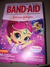 Children's Band Aids Shimmer And Shine Bandages 20 In Pack 3 Pictures Kids New