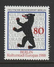 Germania Berlino, 1988 Città europea della cultura SG B798 MNH