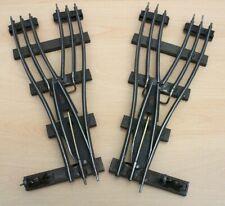 More details for vintage electric hornby o gauge 3 rail parallel points, eppl2 & eppr2 #2