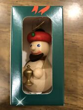 Baumbehang Christmas Ornament Wood Handmade German Richard Glaesser Seiffen NIB