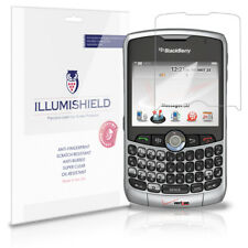 iLLumiShield Anti-Bubble/Print Screen Protector 3x for BlackBerry Curve 8330